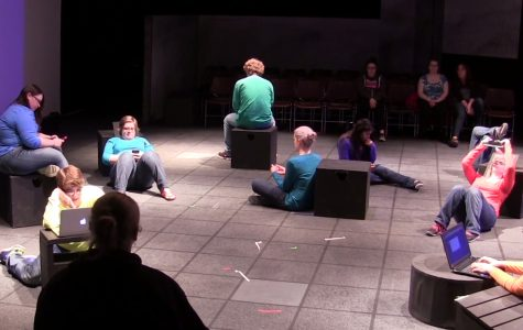 Students present original play, ['fuzed and 'fraid]
