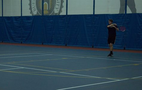 Men's tennis out to a 1-3 start on spring season