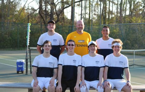 BVU men's tennis season comes to a close in conference play