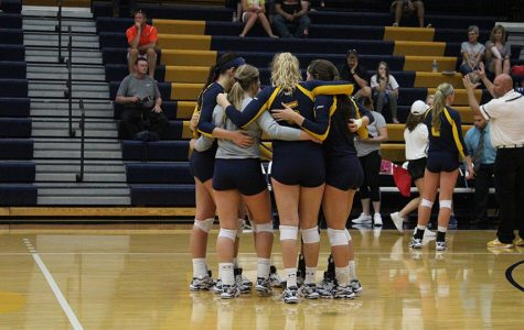 BVU volleyball and soccer compete in spring games