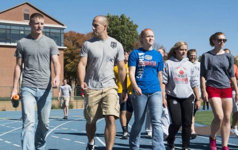 HIPSO strives for a healthier campus through health walk