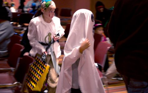 BVU hosts trick-or-treating for local children