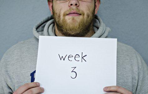 No Shave November:  Week 3