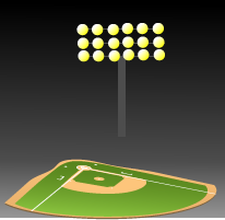 New lights plan to brighten up baseball and softball complexes