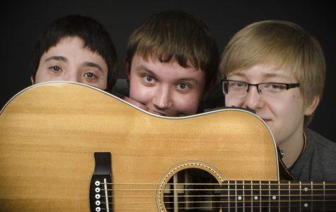 Freshmen form band and produce own album