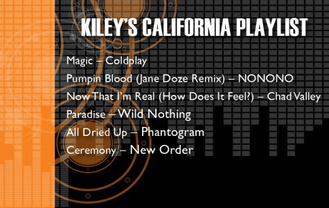 Kiley's California Playlist