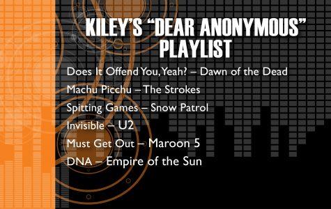Kiley's Dear Anonymous Playlist