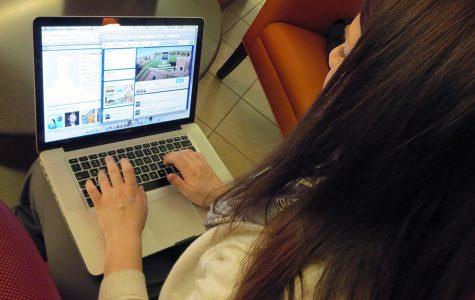 Maintaining a professional social media presence
