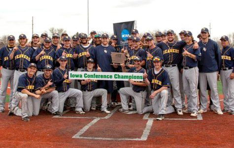 Baseball clinches IIAC regular season title