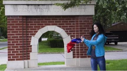 International Students at Buena Vista University:  Ariel Chen