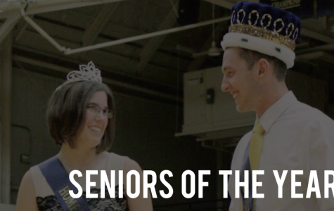 Grigsby and Weber receive Senior of the Year award