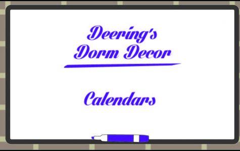 Deering's Dorm Decor: Calendars