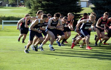 Cross country competes in first-ever night race