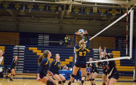 Beaver volleyball fires up home crowd with a win