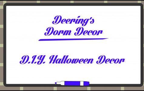 Deering's Dorm Decor: DIY Halloween Decor!