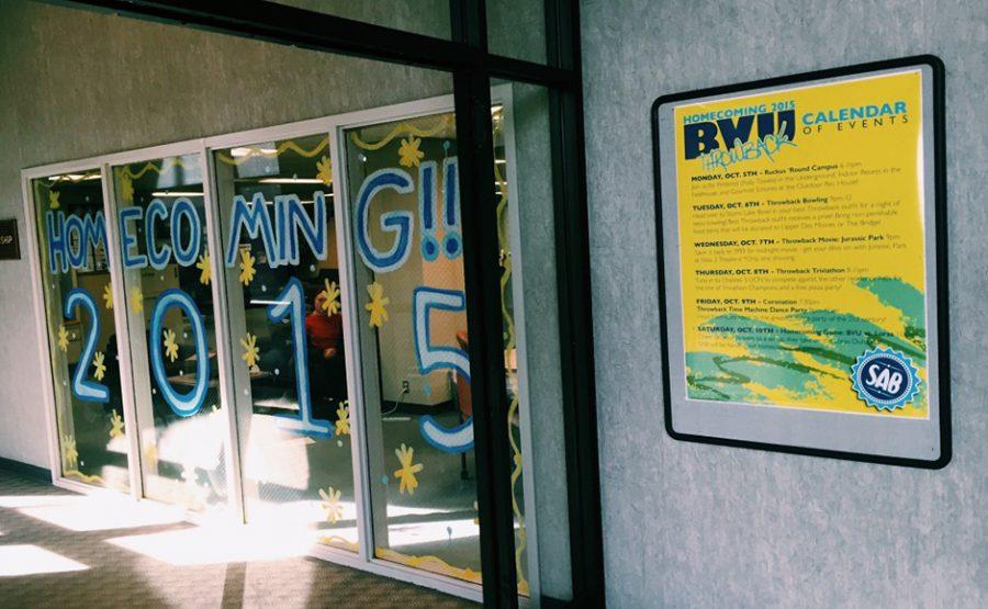 Seniors Keller and Wilkinson plan their final BVU Homecoming