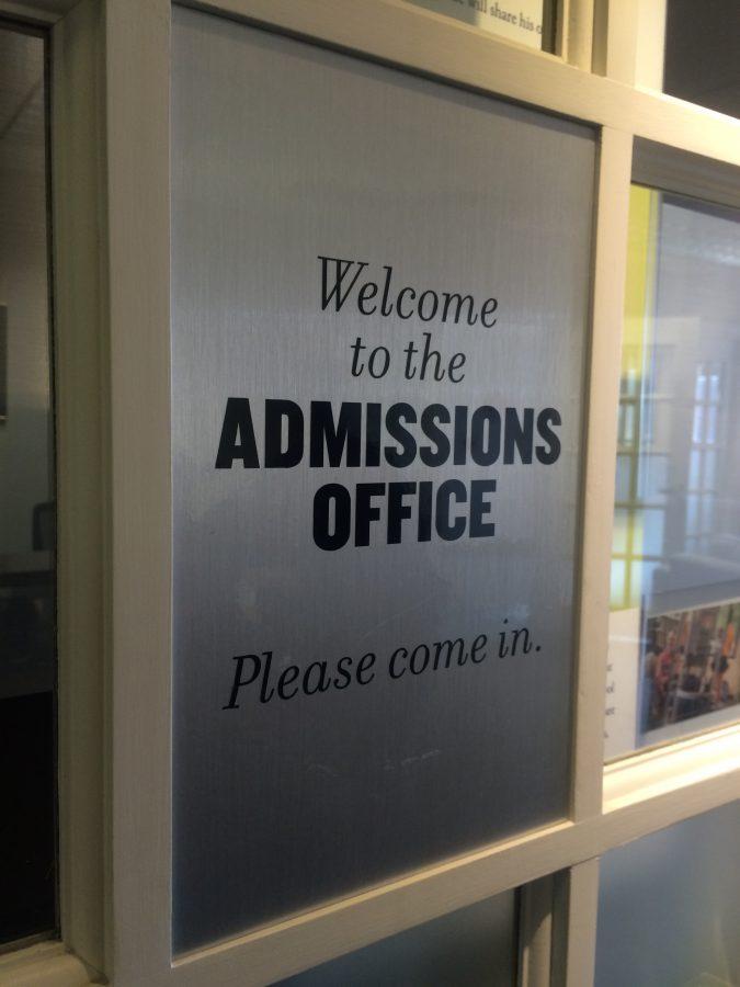 How admissions staff utilizes social media