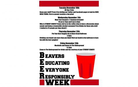 Student Senate BEER Week