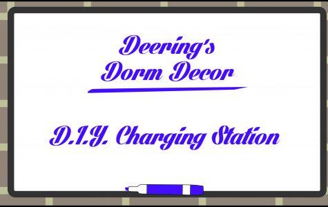 Deering's Dorm Decor: DIY Charging Station