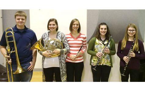 BVU sends 5 students to Iowa Collegiate Honor Band