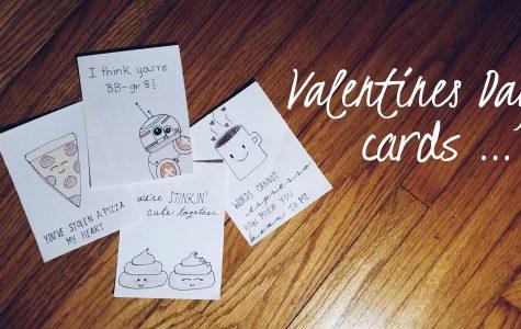 Simple DIY Valentine's Day cards