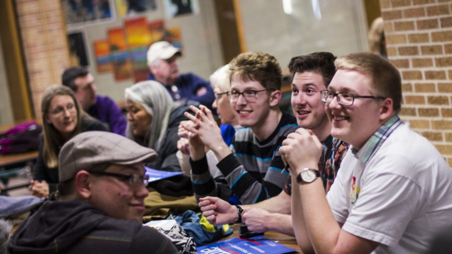 BVU students fully engaged in first caucus
