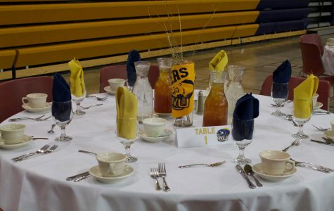 "BVU wrestling hosts first ever ""Dinner and a Show"""