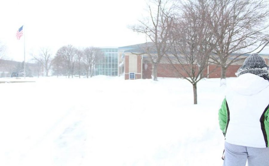 Snow day ghost town