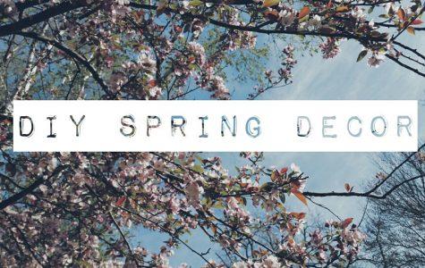 Spring DIY: Floral Letters