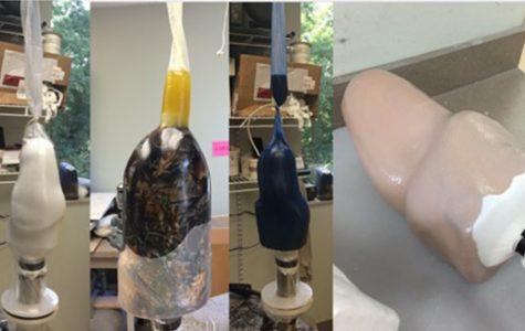 Weaver interns for prosthetic company in Kansas City