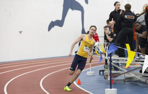 Sampson highlights track and field finishes at IIAC Indoor Championships