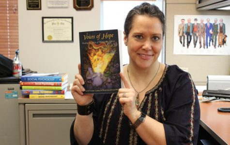 Psychology professor authors several books