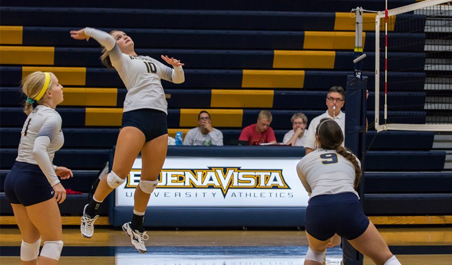 Beaver Volleyball on a Roll