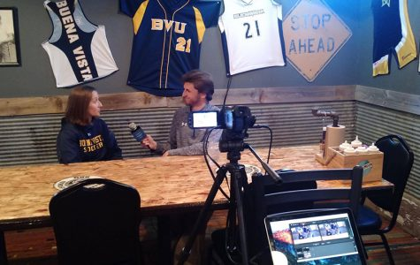"BVU Coaches hold ""Sports Talk"" at local Smokin' Hereford restaurant"