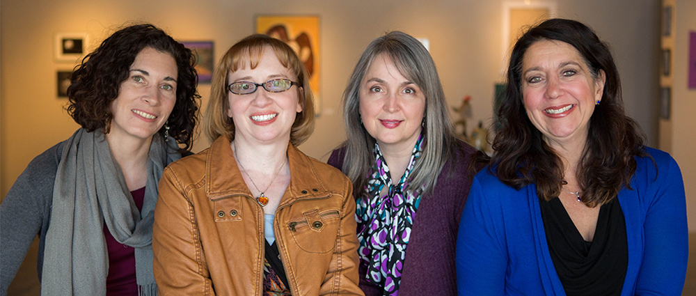 Ms. Miranda Pollock, Dr. Gwen Hart, Dr. Bethany Larson, Dr. Andrea Frantz