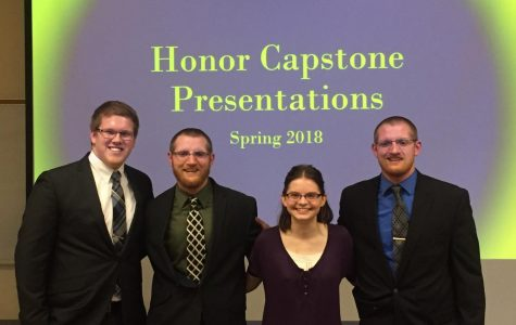 Honors students present final projects