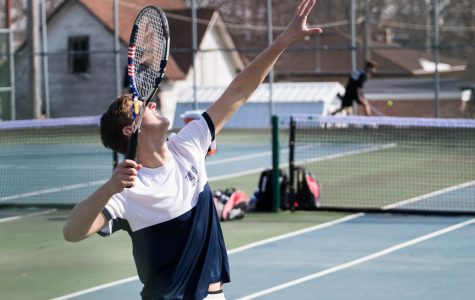 BVU Men's Tennis team loses home opener against Martin Luther
