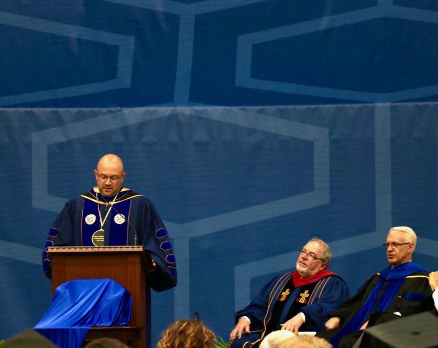 Buena+Vista+University+Inaugurates+18th+President+Dr.+Joshua+Merchant