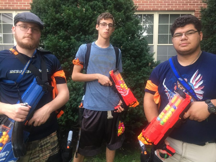 Zombie Invasion: Three BVU Students Attend Largest Human Versus Zombies Invite in the Country