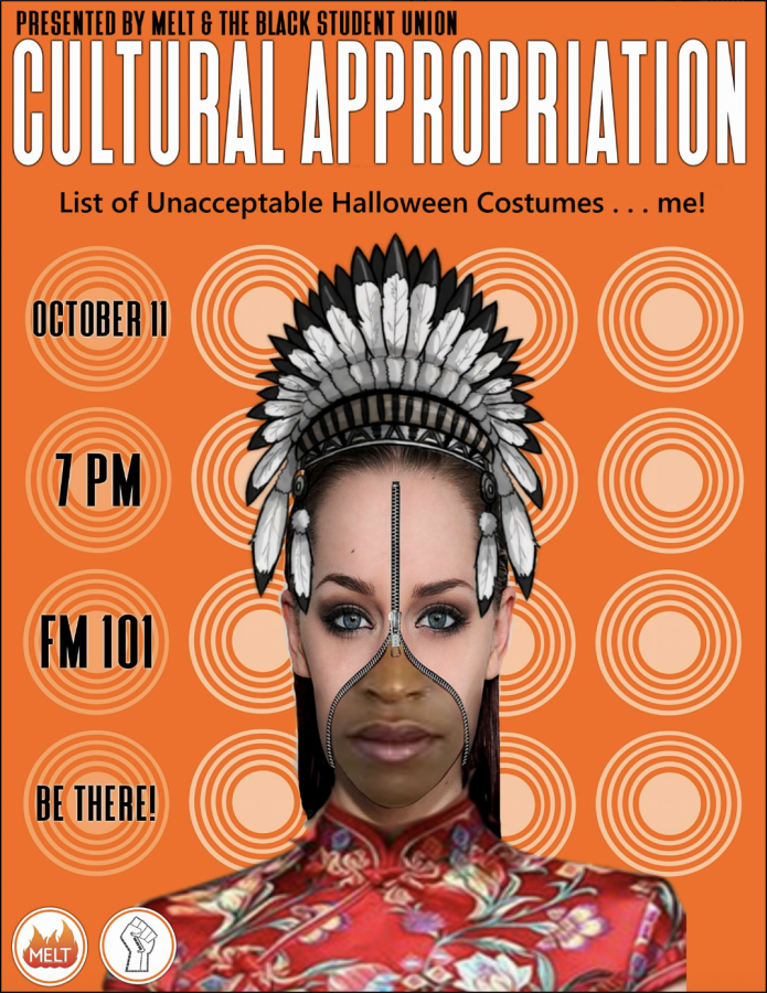 BSU and MELT Cultural Appropriation Halloween Costume Event