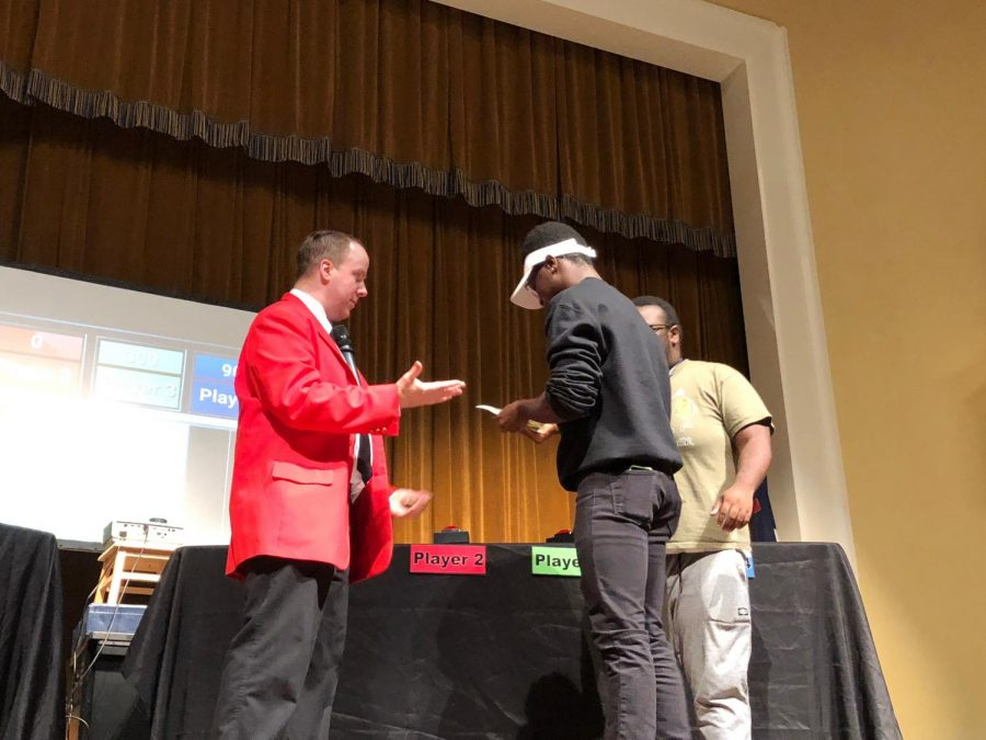 Student Activities Board puts on First Ever Free Money Game Show