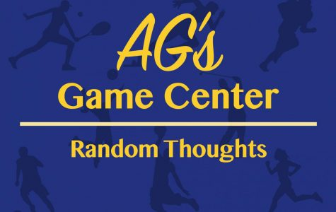 AG's Game Center: Random Thoughts