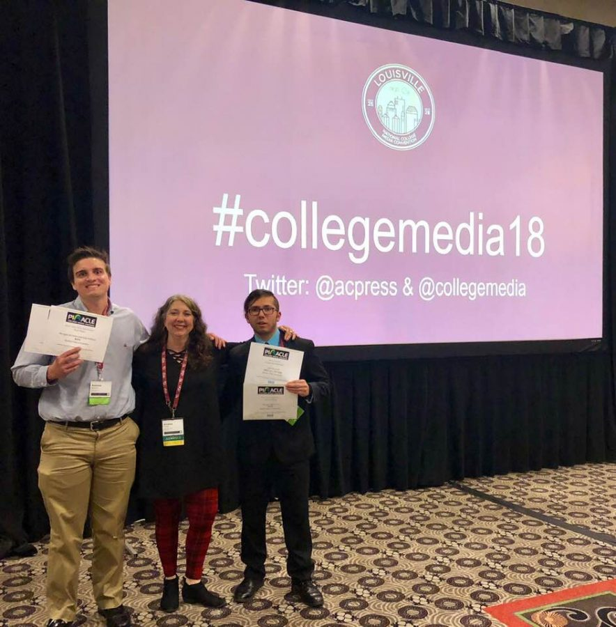 BVU Members of the Society for Collegiate Journalists Win National Awards