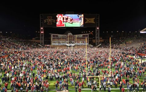 $25,000 Fine for Iowa State Rushing the Field