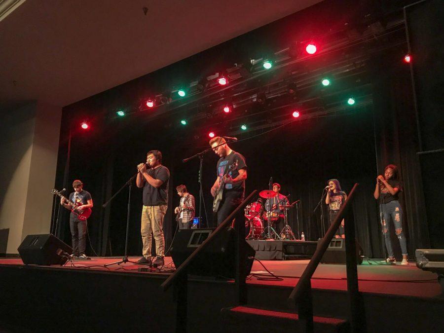 Fall Rock EnsembleTakes the Stage