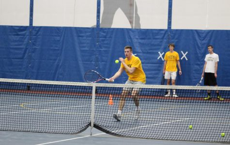 Men's Tennis Aims for Top Half ARC Finish Despite Poor Opening Weekend