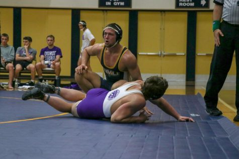 BVU Wrestling wraps up after a tough season