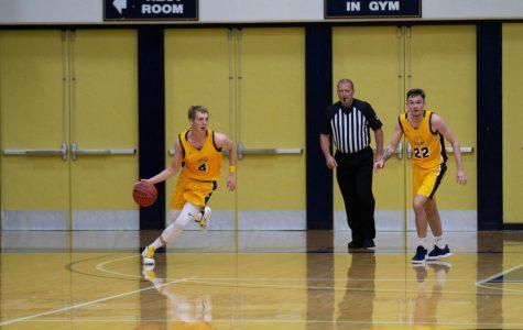 Beaver Men's Basketball Piles on the Points