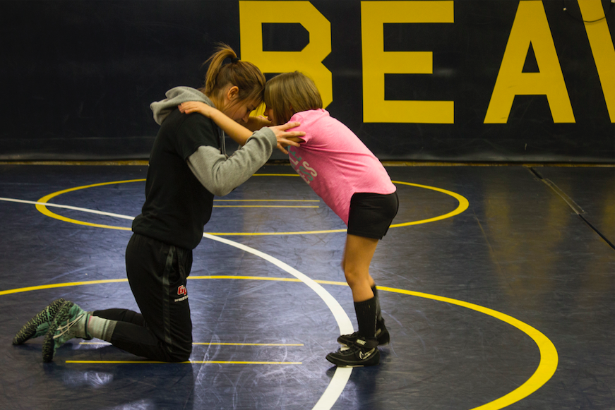Women%E2%80%99s+Wrestling%3A+Building+Community+and+Encouraging+Growth