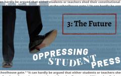 Oppression of Student Press: The Future